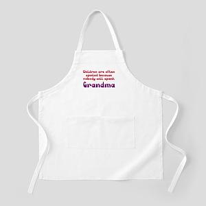 Children Spoiled Grandma Apron
