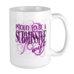 Submissive Wife (Pink) Large Mug