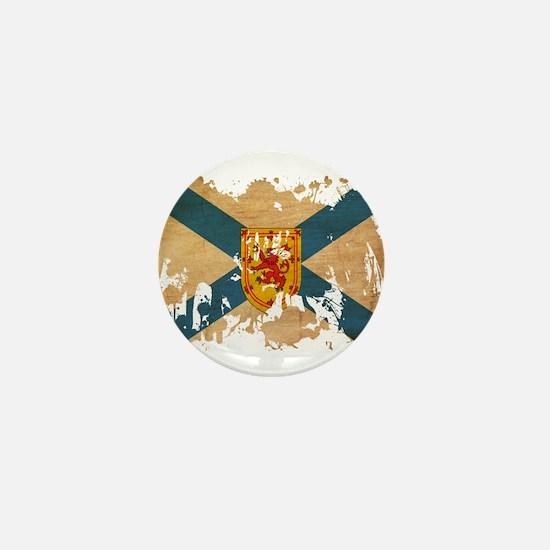 Nova Scotia Flag Mini Button