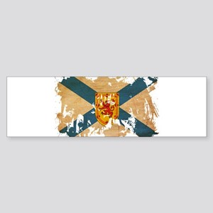 Nova Scotia Flag Sticker (Bumper)