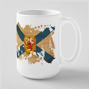 Nova Scotia Flag Large Mug
