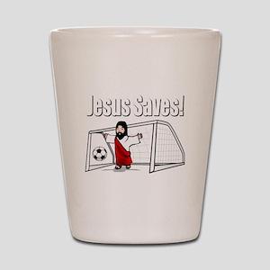 Jesus Saves Shot Glass