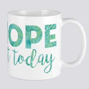 Nope Not Today Print 11 oz Ceramic Mug