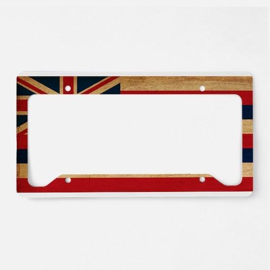 Hawaii Flag License Plate Holder