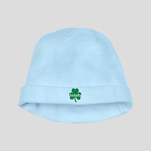 Irish Shamrock baby hat