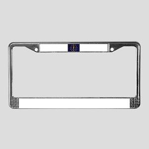 Indiana Flag License Plate Frame