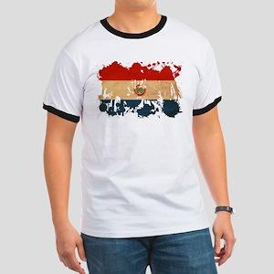 Paraguay Flag Ringer T