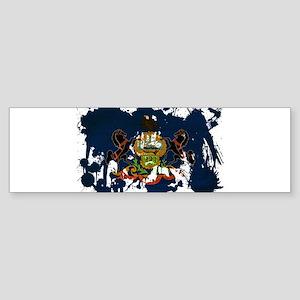 Pennsylvania Flag Sticker (Bumper)