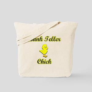 Bank Teller Chick Tote Bag