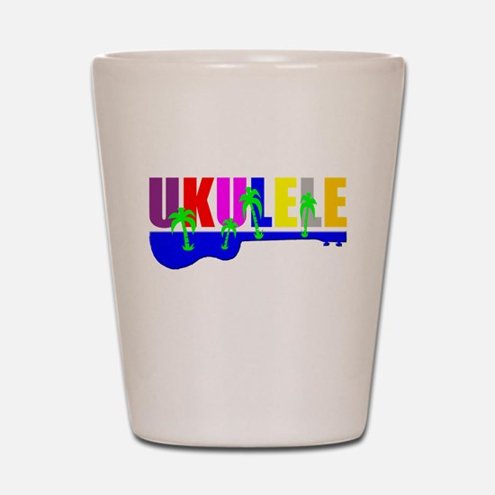Hawaiian Ukulele Shot Glass