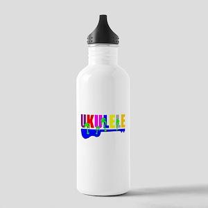 Hawaiian Ukulele Stainless Water Bottle 1.0L