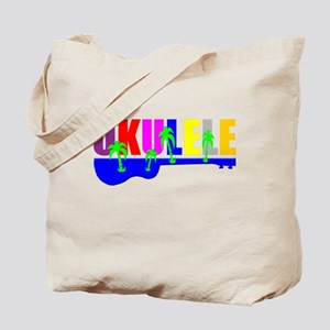 Hawaiian Ukulele Tote Bag