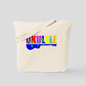 Hawaiian Ukulele Tote Bag