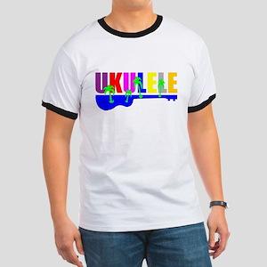Hawaiian Ukulele Ringer T
