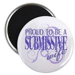 Submissive Wife (Purple) Magnet
