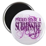 Submissive Wife (Pink) Magnet
