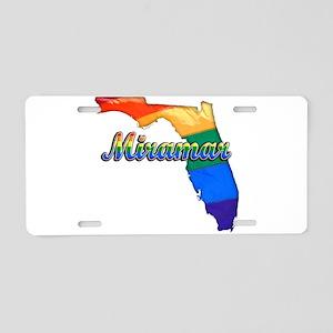 Miramar, Florida, Gay Pride, Aluminum License Plat