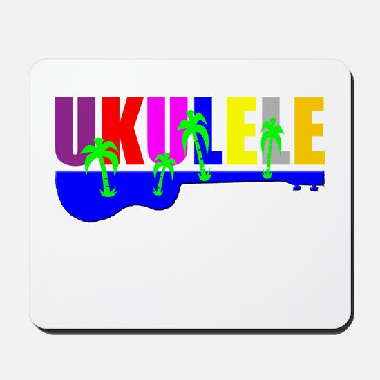 Hawaiian Ukulele Mousepad
