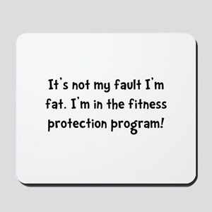 Fitness Protection Mousepad