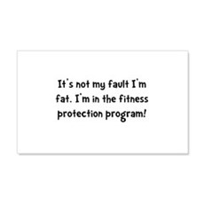 Fitness Protection 22x14 Wall Peel