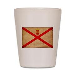 Jersey Flag Shot Glass