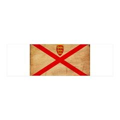 Jersey Flag 42x14 Wall Peel