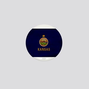 Kansas Flag Mini Button