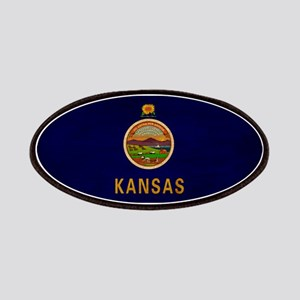 Kansas Flag Patches