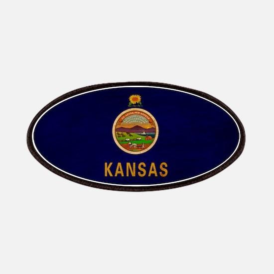 Kansas Flag Patches