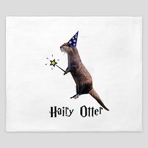 Hairy Otter King Duvet