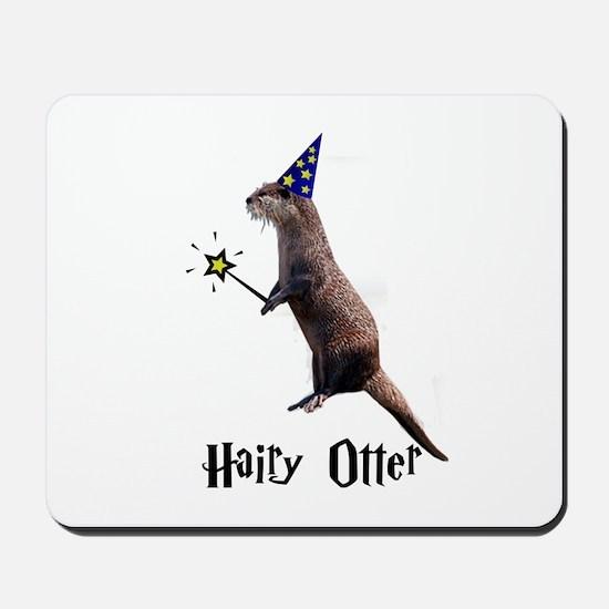 Hairy Otter Mousepad