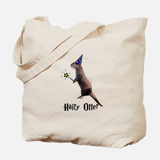 Hairy Otter Tote Bag