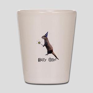 Hairy Otter Shot Glass
