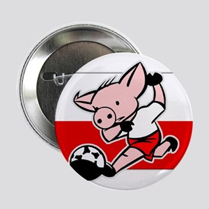 Poland Soccer Pigs Button