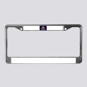 Louisiana Flag License Plate Frame