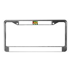 Sao Tome and Principe Flag License Plate Frame