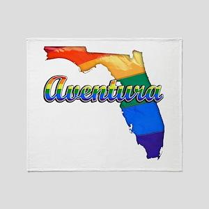 Aventura, Florida, Gay Pride, Throw Blanket