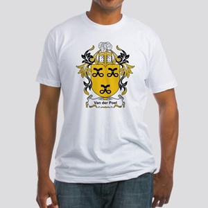 Van der Poel Coat of Arms Fitted T-Shirt