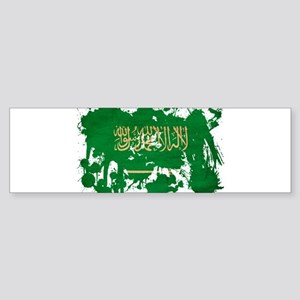 Saudi Arabia Flag Sticker (Bumper)