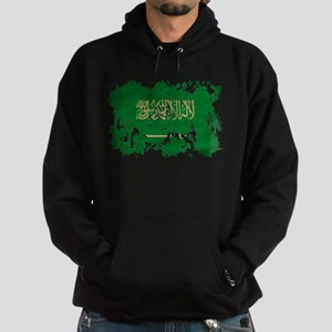 Saudi Arabia Flag Hoodie (dark)