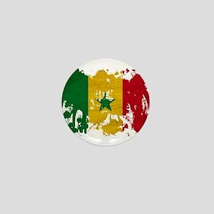 Senegal Flag Mini Button
