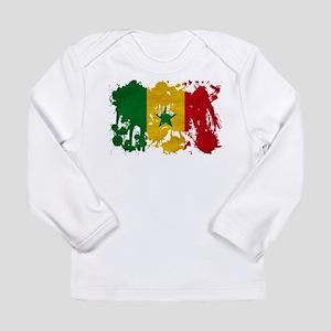 Senegal Flag Long Sleeve Infant T-Shirt