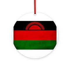Malawi Flag Ornament (Round)