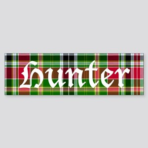 Tartan - Hunter Sticker (Bumper)
