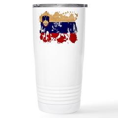 Slovenia Flag Stainless Steel Travel Mug
