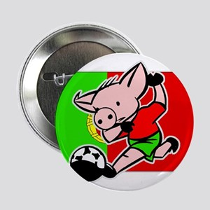 Portugal Soccer Pigs Button