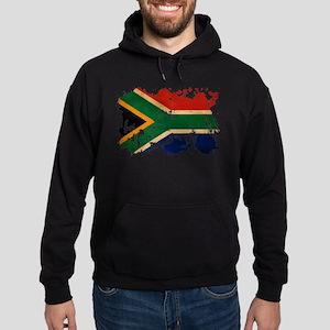 South Africa Flag Hoodie (dark)