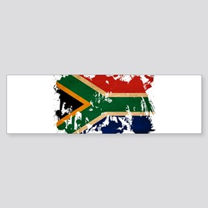 South Africa Flag Sticker (Bumper)