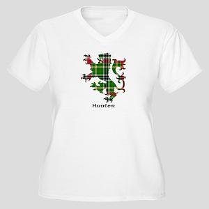 Lion - Hunter Women's Plus Size V-Neck T-Shirt