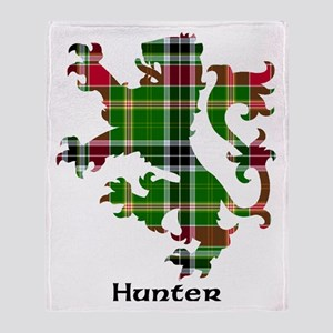 Lion - Hunter Throw Blanket